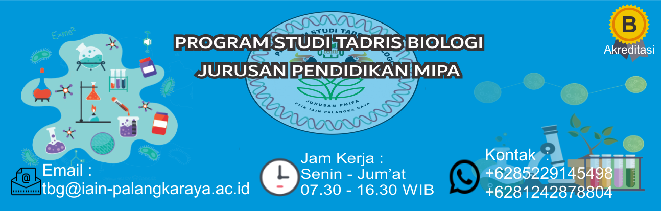 PROGRAM STUDI  TADRIS BIOLOGI
